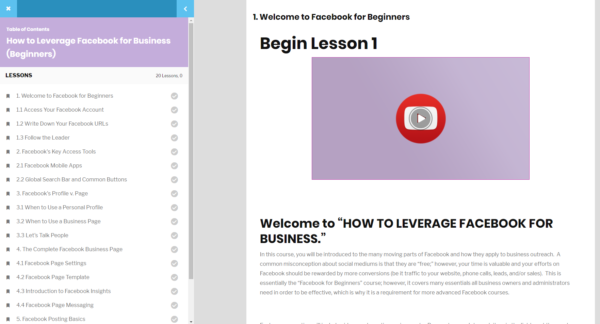 welcome online learning
