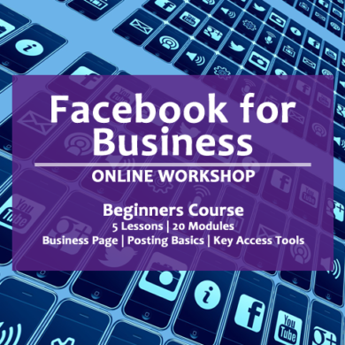 online facebook for business workshop