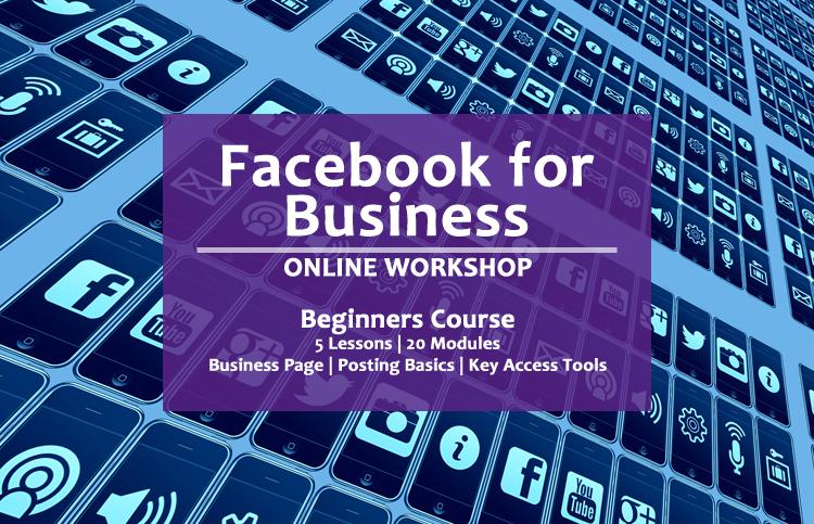 online facebook for business workshop